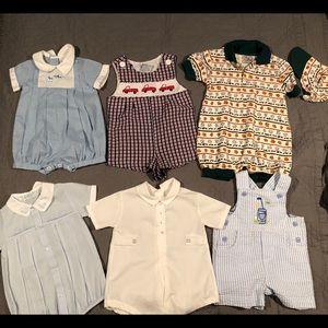 Vintage baby boy bundle 6 months